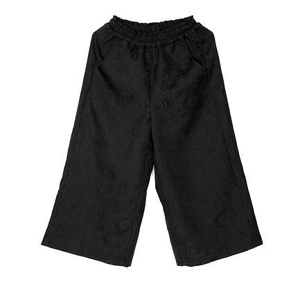 014 Wide-leg Cropped Pants (Rose)