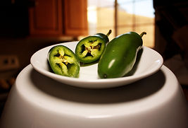 Fresh Jalapeno Peppers, Brazilian Cheese Bread Ingredient