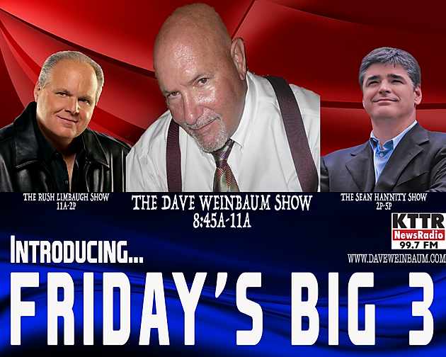 Who's that new lead-in to Limbaugh and Hannity?
