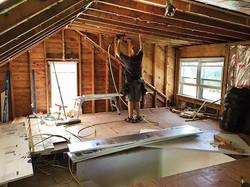 Rigid foam insulation time 🔨 with _apap