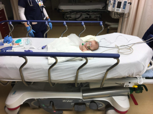 Charly's First PICU Stay