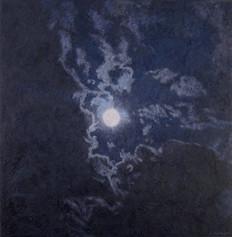 BUCK MOON 2016, oil on canvas 46×45 in / 117×115 cm