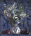 BOUQUET WITH RED ONIONS 2009, pastel 9×8 in / 22×20 cm
