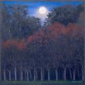 HUNTER'S MOON 2014, pastel 8×8 in / 20×20 cm
