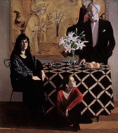THE BEAULIEU-PETERSONS 2001, oil on canvas 59×51 in / 150×130 cm