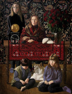 FAMILY III 2005, oil on canvas 59×45 in / 150×114 cm