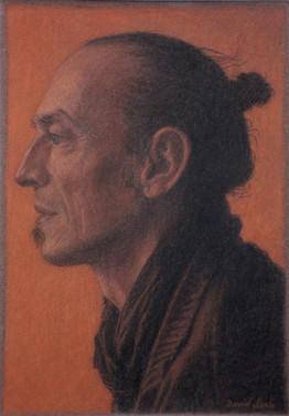 GATIEN PERCHEC 2014, pastel 8×6 in / 20×14 cm