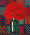 POPPIES II 2007, oil on canvas 15×13 in / 38×33 cm