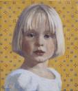 BROOKS-ANN HARRIS 2001, oil on canvas 17×14 in / 43×36 cm