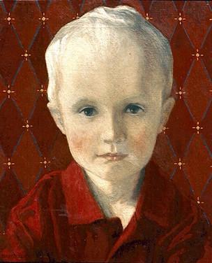 TRISTAN HARRIS 2001, oil on canvas 17×14 in / 43×36 cm