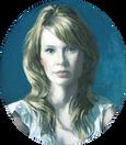 ERIN MANN 2007, oil on canvas 18×16 in / 46×41 cm