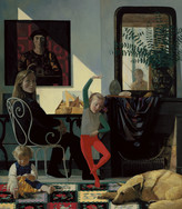 FAMILY I 1995, oil on canvas 59×51 in / 150×130 cm