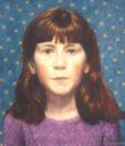 KATE KILGUS 2003, oil on canvas 16×14 in / 41×36 cm