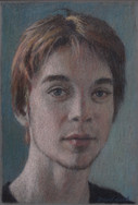 VICTOR LACOUR 2013, pastel 7×5 in / 19×12 cm