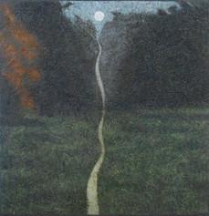 Montée, Crépuscule '20, o:c, 39x38in/100x97cm