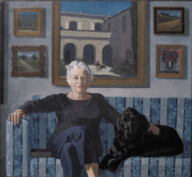 DILYS MacCRINDLE 2012, oil on canvas 47×51 in / 120×130 cm