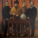 THE AMBASSADORS 2009, oil on canvas 64×64 in / 162×162 cm
