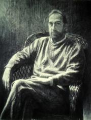 BRUCE STADLMAN 1998, charcoal 33×26 in / 84×66 cm