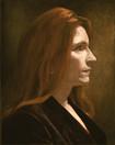 LISA CARL 2001, oil on canvas 20×16 in / 51×41 cm
