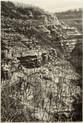GORGE DE NOUAILLE 2019, charcoal 28×39 in / 70×100 cm