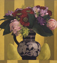 BOUQUET WITH PEARS 1998, oil on canvas 20×18 in / 51×46 cm