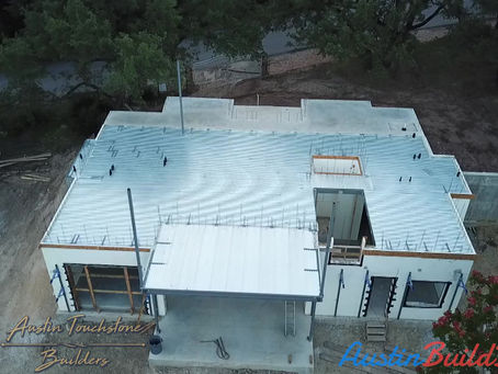 ATB - Model Home - Second Level - Floor Pan Ready For Concrete.
