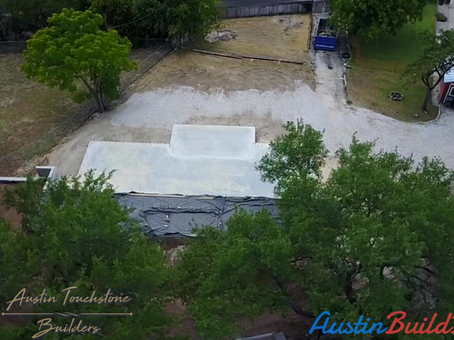 ATB Model Home - Drop Slab Foundation Complete