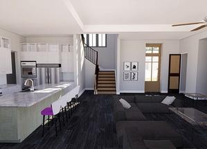 Kitchen/ Foyer
