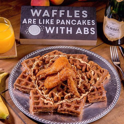Cajun Fried Chicken & Waffles