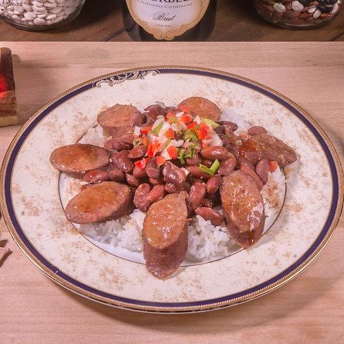 Red Beans & Rice w/ Cornbread