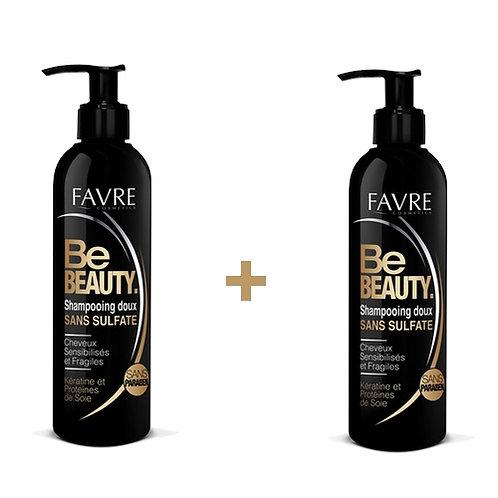 Shampooing Doux sans sulfate à la kératine et protéines de soie