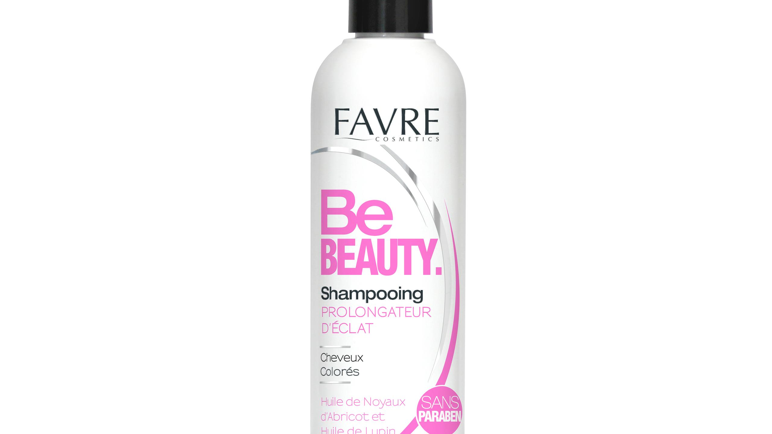 Shampooing prolongateur d'éclat pour les cheveux colorés