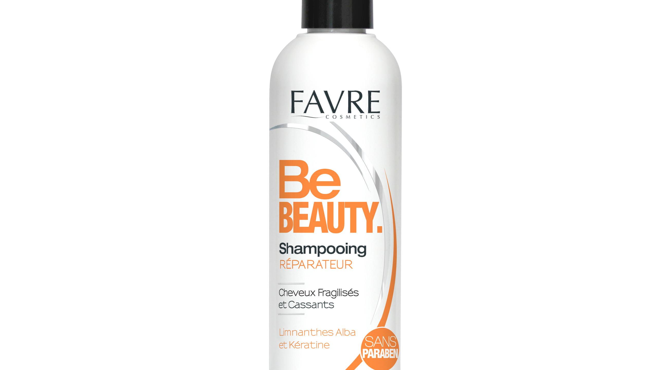 Shampooing réparateur pour les cheveux fragilisés