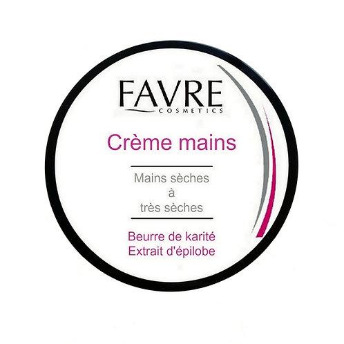 Crème mains Favre Cosmetics