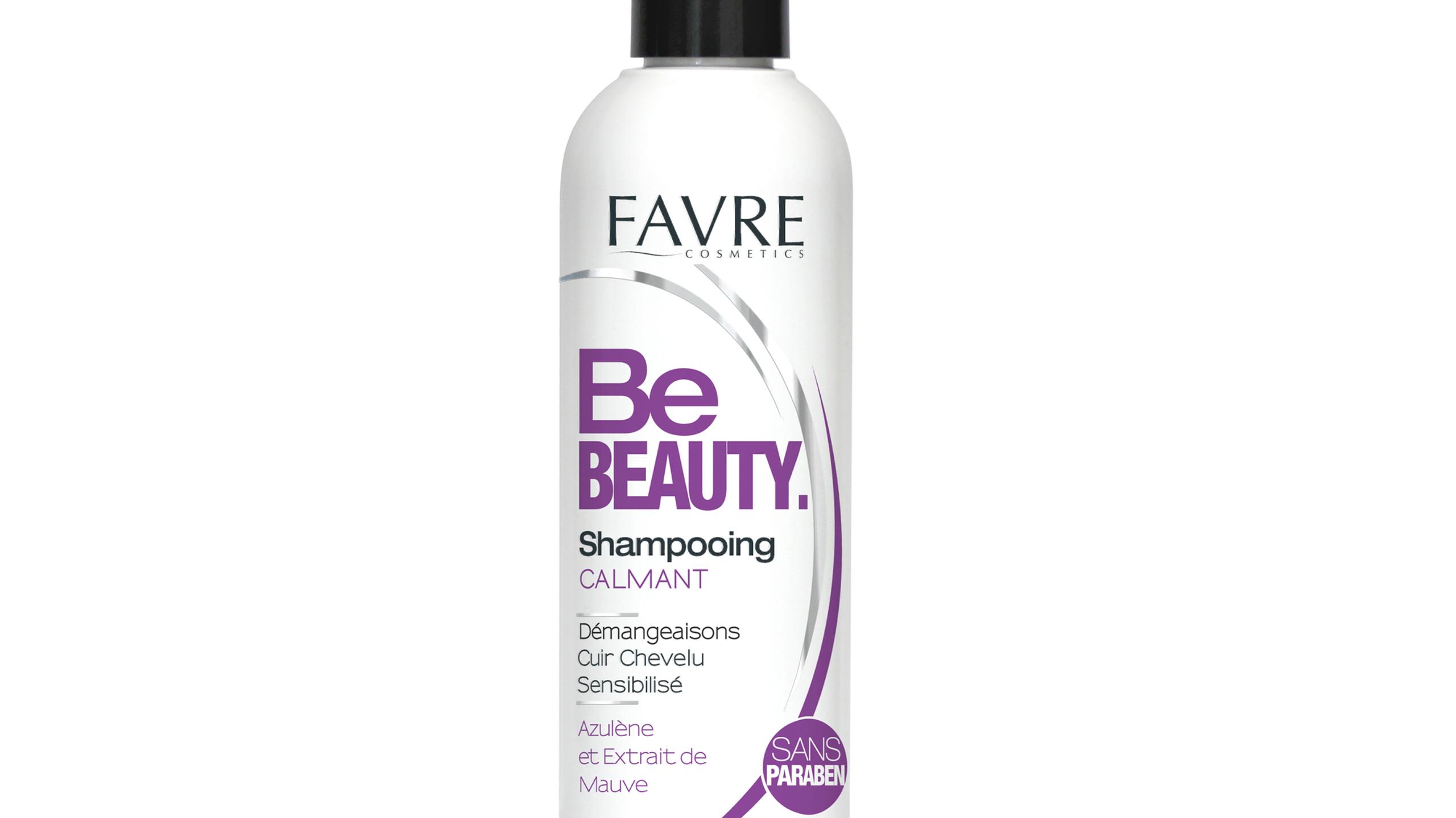 Shampooing calmant pour les démangeaisons du cuir chevelu