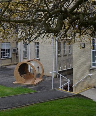 Pavilion Gets Built
