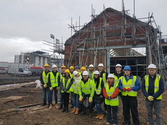 Waterside Construction site visit