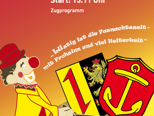 Die HEARTLINER beim Ludwigshafener Fastnachtszug.