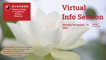ONLINE: Virtual Open House & Info Session Nov 15