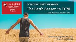Free Webinar: The Earth Season in Traditional Chinese Medicine