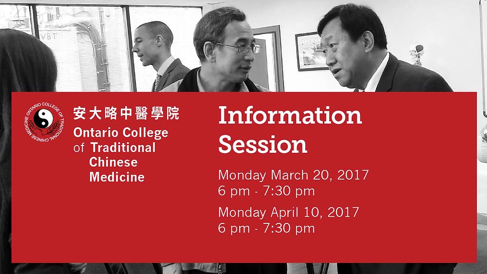 Information Session at OCTCM Toronto Campus