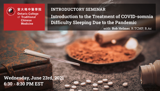Free Webinar: Introduction to the Treatment of COVID-somnia Difficulty Sleeping Due to the Pandemic