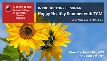 Free Webinar: Happy Healthy Summer with Traditional Chinese Medicine
