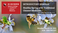 Free Webinar: Healthy Spring with Traditional Chinese Medicine