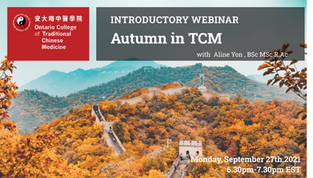 Free Webinar: Autumn in TCM