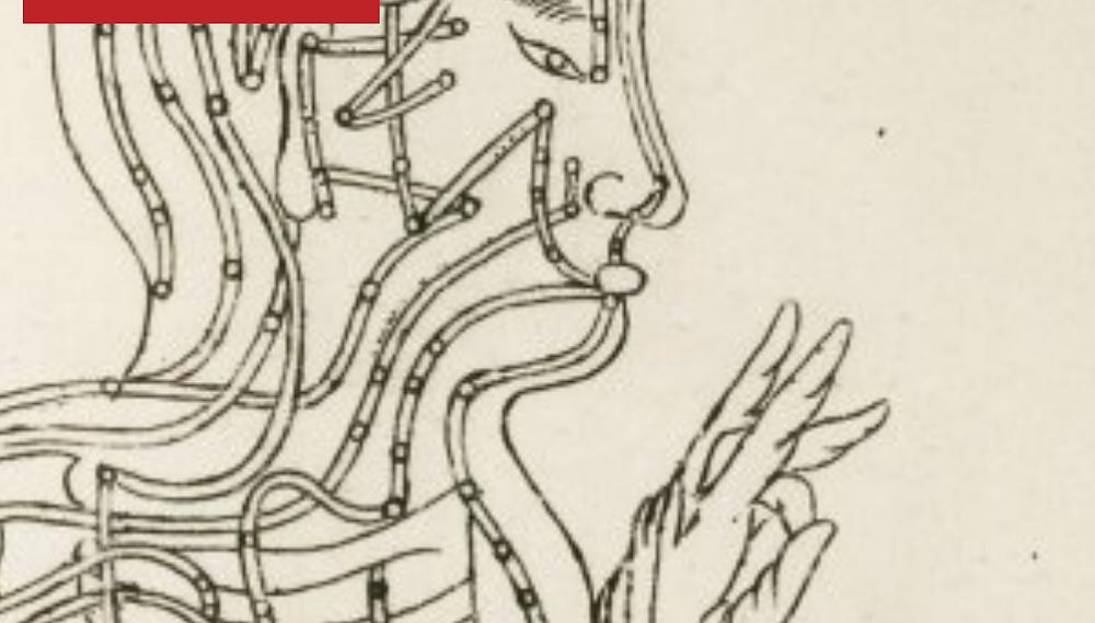 Ancient meridians diagram