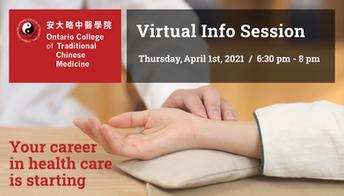 April Virtual Info Session - ASK US!