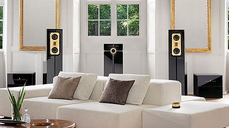 STEINWAY FREESTANDING SPEAKERS MODEL C 1