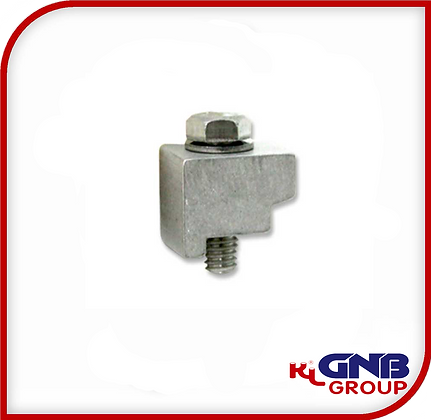 KF Wall Clamps with Bolts, Aluminum