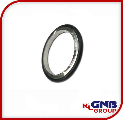 KF Centering Rings with O-Rings, Aluminum